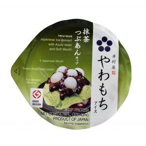 日本IMURAYA井村屋 冷冻麻糬甜品抹茶冰淇淋 140ML