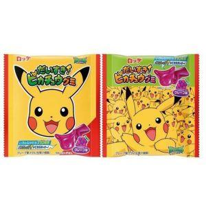Lotte love! Pikachu gummy (Grape Flavor) 28g