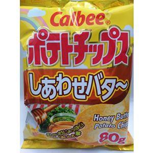 日本CALBEE卡乐比 蜂蜜黄油薯片 80G