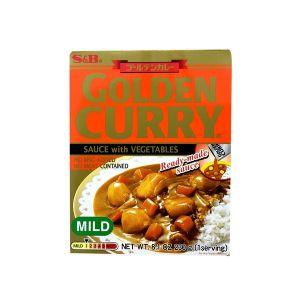 日本S&B CURRY GOLDEN咖喱淡味 1人份 230G