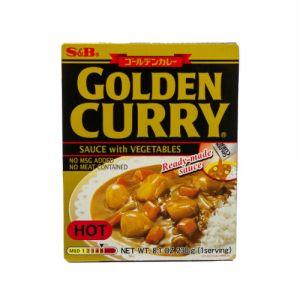 日本S&B CURRY GOLDEN咖喱辣味 1人份 230G