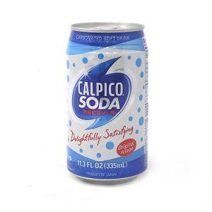 日本CALPICO 天然乳酸菌汽水饮料 原味 罐装 335ML