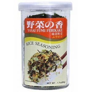 日本AJISHIMA味岛 日式香松拌饭料 野菜味 50G