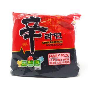 NONG SHIM SHIN RAMYUN 4P