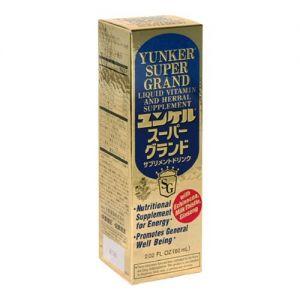 SATO YUNKER SUPER GRAND Liquid Vitamin and Herbal Supplement 60ml
