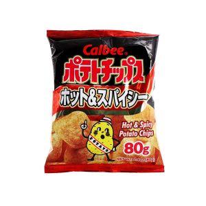 日本CALBEE卡乐比 辣味薯片 80G