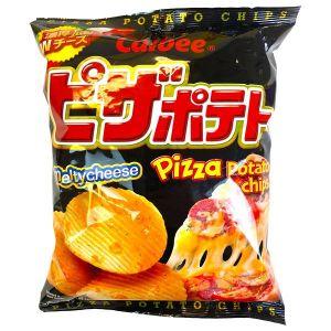 日本CALBEE乐比 薯片 披萨味 72G
