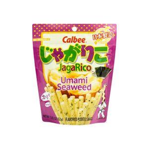 日本CALBEE JAGARICO 土豆脆棒 鲜香海苔味 60G