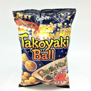 日本CALBEE卡乐比 章鱼烧球状薯片 90G