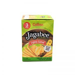 日本CALBEE卡乐比 薯条三兄弟北海道特产淡盐味薯条 3袋 90G