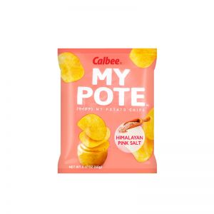 日本CALBEE卡乐比 喜马拉雅粉红盐味薯片 60G