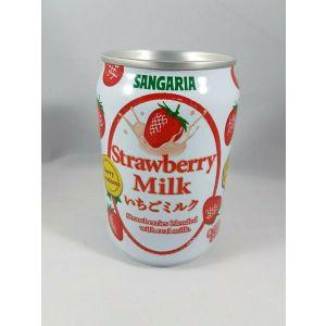 日本SANGARIA 草莓牛奶奶昔饮料 270ML
