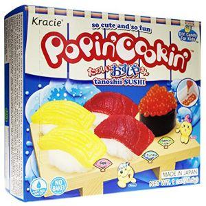 日本食玩嘉娜宝KRACIE 寿司DIY自制手工糖果玩具 28.5g