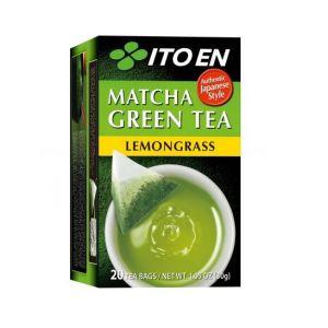 ITOEN TEA BAG MATCHA GREEN TEA LEMONGRASS 20PC 30G
