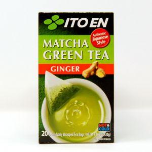 日本ITOEN伊藤园 抹茶绿茶 生姜味 20包 30G