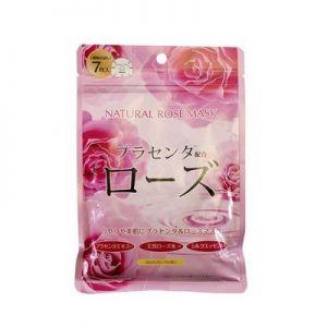 日本Japan Gals天然系列玫瑰面膜 7枚入