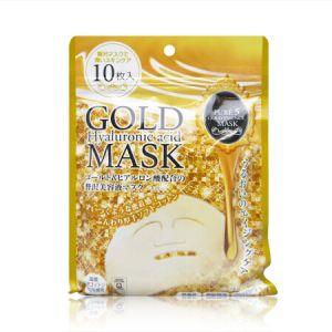 日本JAPAN GALS Pure5 金箔玻尿酸保湿面膜 10片入
