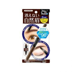 日本BCL BROWLASH EX极致防水两用高贵深棕眉笔/眉粉