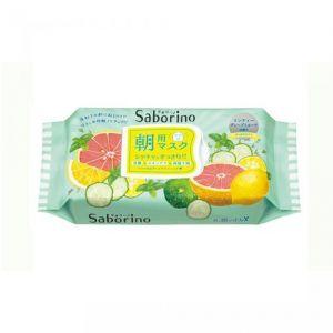 日本BCL SABORINO 60秒 早安面膜 限定清爽型 32枚入
