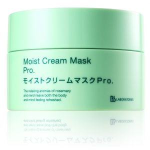 日本Bb laboratories Moist Cream Mask Pro复活草水润乳液面膜175g