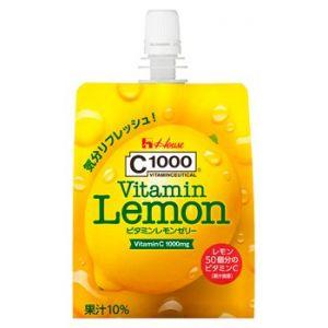 日本HOUSE C1000维生素柠檬果冻饮料 180g