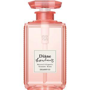 MOIST DIANE BONHEUR Natural & Organic Shampoo Grasse Rose 500ml
