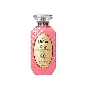 日本MOIST DIANE黛丝恩致美摩洛哥油洗发水 焕活养发450ml