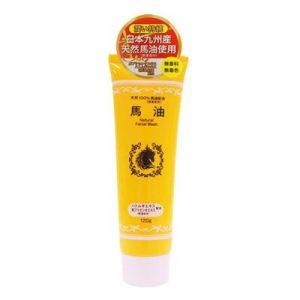 日本OY 九州产天然马油洗颜泡沫洁面乳 120g