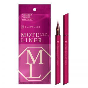 FLOWFUSHI MOTE LINER Liquid Eyeliner #Cherry Cheek 0.55ml
