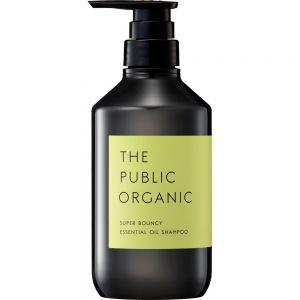 日本THE PUBLIC ORGANIC柑橘花香精油洗发水480ml 释放压力水润柔顺至发梢