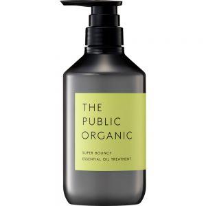 日本THE PUBLIC ORGANIC柑橘花香精油护发素480ml 释放压力水润柔顺至发梢