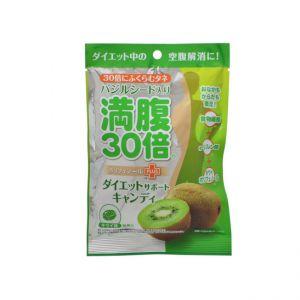 日本MANPUKU 30倍饱腹感硬糖 猕猴桃味 42G