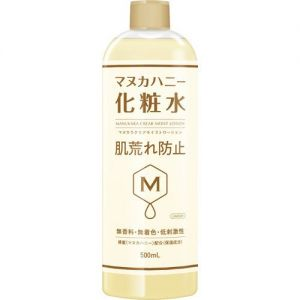 日本MANUKARA蜂蜜保湿清透防干燥化妆水 500ml