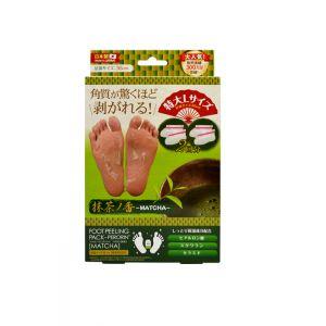 日本Sosu Foot peeling pack 足膜去老茧脚膜足贴 绿茶香