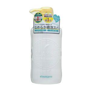 日本CLAYGE S 温冷SPA洗发水 蓬松清爽型 #花朵幽香 500ml