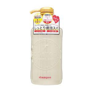 日本CLAYGE D 温冷SPA洗发水 修复滋养型 #高级优雅皂香 500ml