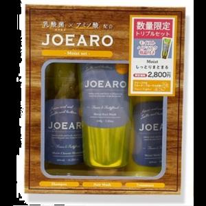 日本JOEARO乳酸菌氨基酸保湿修护清洁滋润洗护发膜数量限定套装