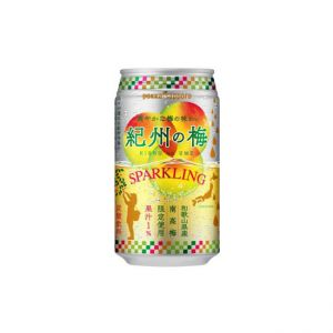 日本POKKA SAPPORO纪州梅子碳酸饮料 350ML