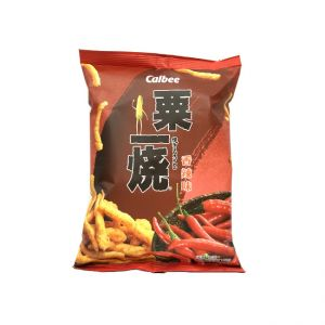 日本CALBEE 粟一烧粟米条香辣味 80G
