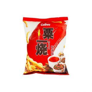日本CALBEE 粟一烧粟米条麻辣味 80G