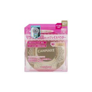 CANMAKE棉花糖粉饼 ML瓷白色