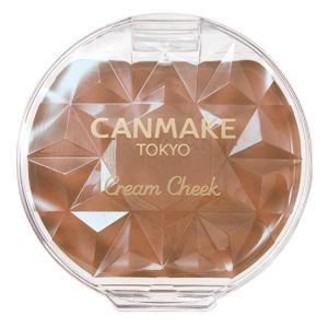日本CANMAKE奶油脸颊肌腮红膏 多色选