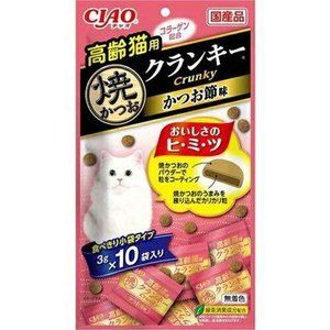 CIAO CRUNCHY SNACK FOR ELDER CAT M-65
