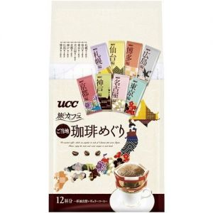 日本UCC 咖啡之旅滴漏式咖啡 12份 94G