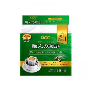 UCC COFFEE DRIP SPECIAL BLEND 18P