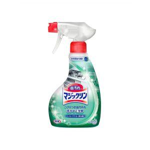 日本KAO花王泡沫型厨房去油污力强 洗洁精喷剂400ml分解顽固污渍
