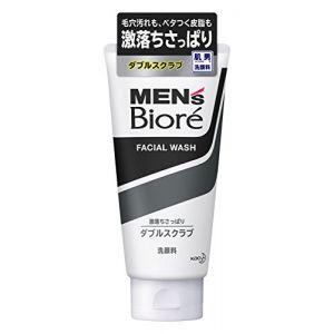 日本KAO花王 MEN'S Biore碧柔男性专用黑白柔珠洗面乳 100g