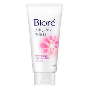日本KAO花王 BIORE碧柔 深层洁净去角质柔滑磨砂洗面奶