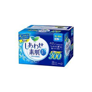 日本KAO花王 LAURIER乐而雅 F系列 超薄棉柔卫生巾 夜用护翼型 30cm 10片入