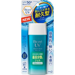 KAO Biore UV Aqua Rich Watery Gel Sunscreen SPF50 90ml